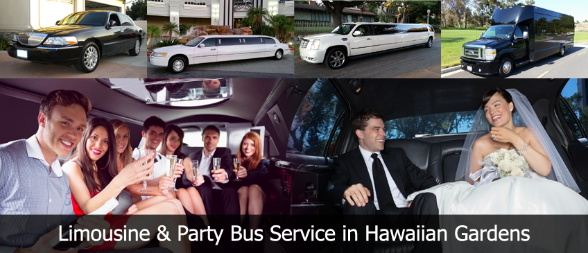 hawaiian gardens limousine Party Bus Limo Rental Service