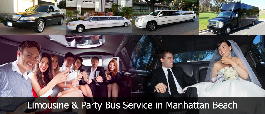 manhattan beach limousine Party Bus Limo Rental Service